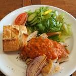 クレバーカフェ - 料理写真:本日のチキンプレート