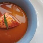 132513206 - オマール海老の茶碗蒸し