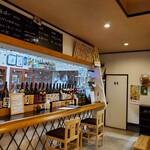 ひもの屋 Cafe&Bar - カウンター席