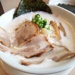 麺縁 ジョウモン - 料理写真:豚しお+板のりトッピング