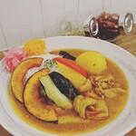 ママ カリー - 季節の野菜カレー