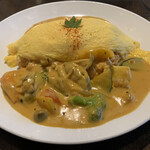 MIRAI restaurant&cafe - 海のオムライス