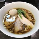 132524860 - 鶏生醤油 750円                       + 味玉 100円