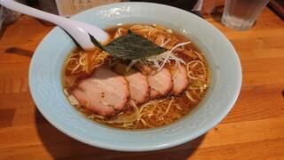 中華そば おかめ - チャーシュー麺(魚介)