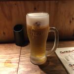 人情味酒場 えんぎ屋 - 生はYEBISUビール