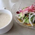 ファーマーズオリジン - スープとサラダ