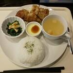 松阪ラーメン番長 - 料理写真:から揚げワンプレートランチ