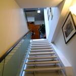 ダ ファビオ - 階段を上がって2階へ