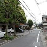 びっくりドンキー - 世田谷通りに向けて( ´ー`)