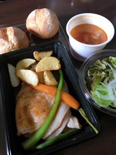 レストランパフュームの料理の写真
