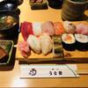 うを勢 - 料理写真:Bセット 12貫(小鉢・赤出汁付き)