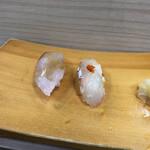 福ずし - ヒラマサ・真ごち(季節の旬にぎり)