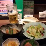 北の味紀行と地酒 北海道 - ヘルシーメニュー バランスいい感じ