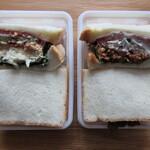 サンドイッチファクトリー・オー・シー・エム - ポテト・フィッシュ、オリジナル・チキンの断面