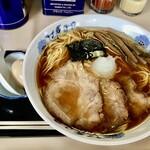 132540218 - ラーメン (大、麺柔らかめ、煮卵)