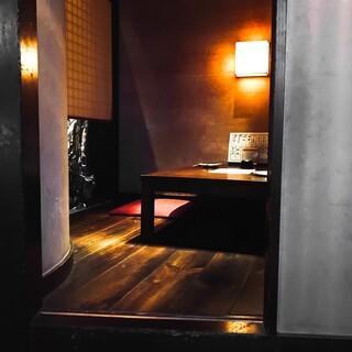 旅館のような癒しの空間