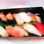 四季 花まる - 料理写真:平日限定ランチセット 1404円(税込)の握りのアップ【2020年6月】