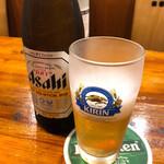 上海ブラッセリー - 瓶ビール 550円