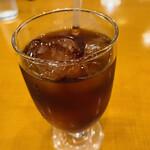 天馬 - プラス税抜100円で追加のドリンク 『アイスコーヒー』