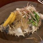 黒ひげ - 渡蟹と土佐酢ジュレ。たっぷりで美味しい!