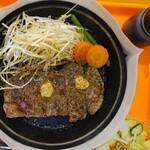 92's - 料理写真:サーロインペッパーステーキ