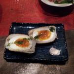 和食居酒屋 品川や - ばくだん卵です。