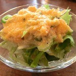 ボンボン亭 - コースメニュー 手作りドレッシングがおいしいサラダ