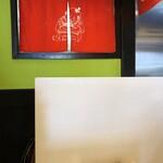 博多麺房 赤のれん - 飛沫防止壁