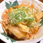 串や とりけん - 豚キムチ炒め¥580 2020.6.30