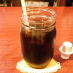 グリルハンター - アイスコーヒー(+380円のセットメニューのドリンク)