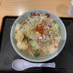 旨い安い腹いっぱい - ラーメン(並)¥750   野菜マシ ニンニクマシ ラブラマシ