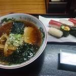 たむら - 料理写真:ラーメン寿司Bセット1270円