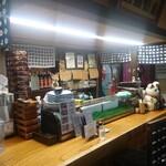 たむら - 板場カウンター