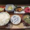 楓 - 料理写真:「鯖焼きとまぐろブツ定食」一式