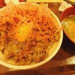 すき家 - 料理写真:大盛モーニング¥600