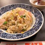 オトメ - ハムチャーハン¥750(スープつき)