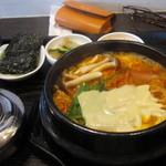韓食堂 モクチャ - プデチゲ定食