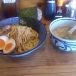 きょうすけ - 鶏白湯醤油つけ麺(並)