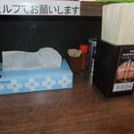 我流麺舞 飛燕 - テーブルの上 【 2012年6月 】
