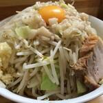 麺処 マゼル - 【再訪】まぜそば大盛(醤油)