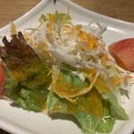 呑くい処コウタ赤坂門 - おかわり自由なサラダ