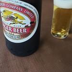 蕎遊庵 - 瓶ビール有ります♪