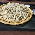 蕎遊庵 - 十割蕎麦大盛り