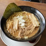 132573002 - 北海道濃厚魚介豚骨味噌ラーメン