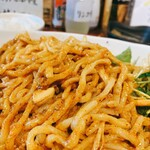 焼きとん 大国 - 汁なし担々麺の麺