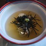 季節料理池宮 - 鯛信州蒸しです