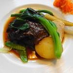 Le Salon de Legumes - +300でほほ肉に替えてもらいました