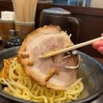 らー麺山之助 - らー麺山之助 本店@山形 からし味噌つけめん チャーシュー
