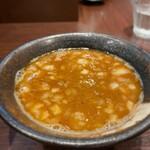 らー麺山之助 - らー麺山之助 本店@山形 からし味噌つけめん つけ汁