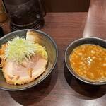 らー麺山之助 - 料理写真:らー麺山之助 本店@山形 からし味噌つけめん(780円)